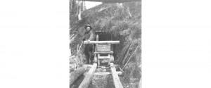 prospector in adit