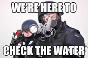Water cops