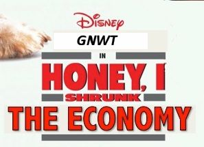 Honey I shrunk the economy