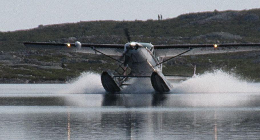 Caravan landing