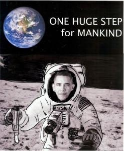 Obama in space