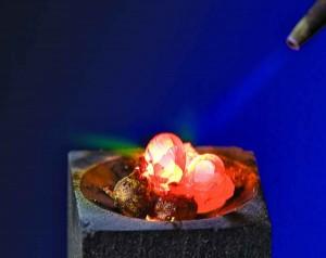 Burning diamond